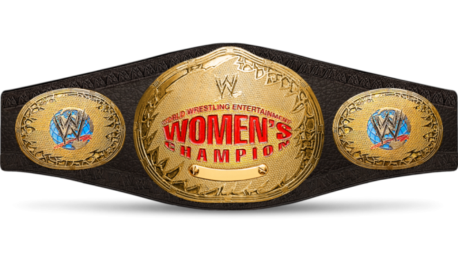 The previous women's belt was retired in 2010.